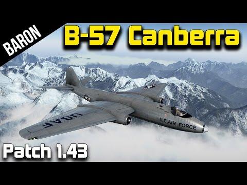 War Thunder 1.43 New Jet – American B-57 Canberra!