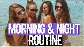 Morning and Night Routine 2016! Summer Routine! by Chelsea Crockett