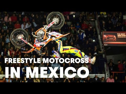 freestyle motocross world tour - mexico city 2015