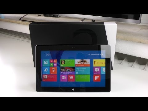 Microsoft Surface 2 Unboxing and Mini Review