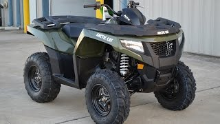 4. $8,399:  2015 Arctic Cat XR 550 Green Overview and Review