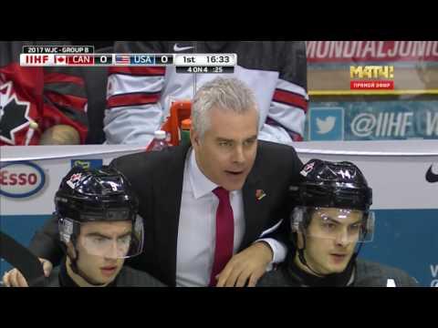 2017 WJC   31.12.2016  CANADA - USA (rus)