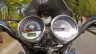 4. Turbocharged Triumph Rocket III 0-150 MPH and more