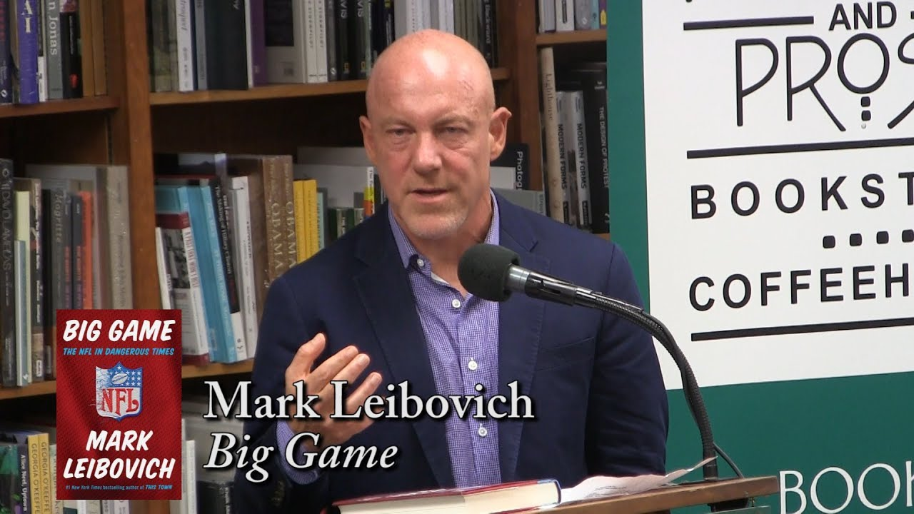 "Mark Leibovich, ""Big Game"" at Politics and Prose"