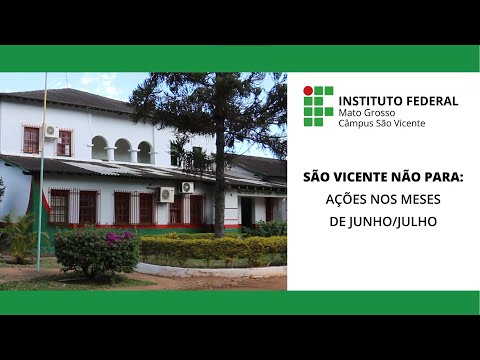 São Vicente não para! junho e julho/2021