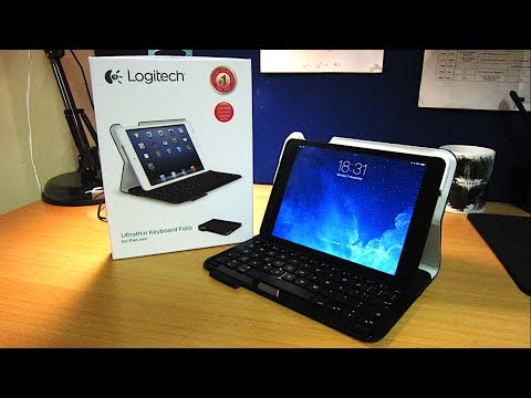 folio - Here's an unboxing and first look at the new Ultrathin Keyboard Folio by Logitech, one of their latest addition to the brand new