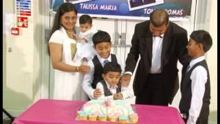Talissa Maria's Baptism Part 3