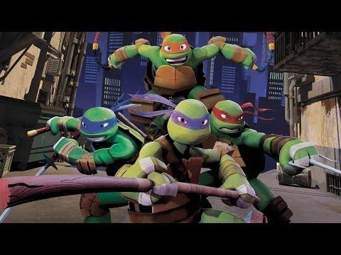 nickelodeon teenage mutant ninja turtles xbox 360 part 1