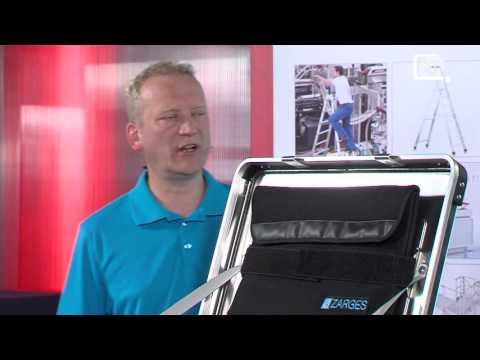 BETRIEBSEINRICHTER TV #1 Alu-Boxen K470 und K424XC - ZARGES