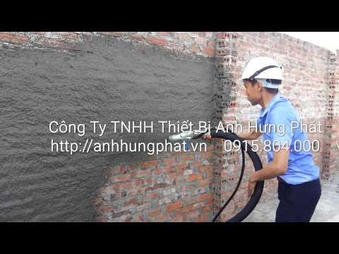 Máy phun vữa P40C http://anhhungphat.vn ĐT:0915804000