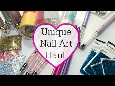 Unique Nail Art Haul!