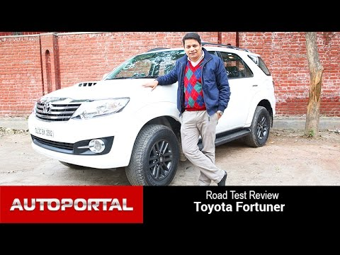 Toyota Fortuner Test Drive Review – Autoportal