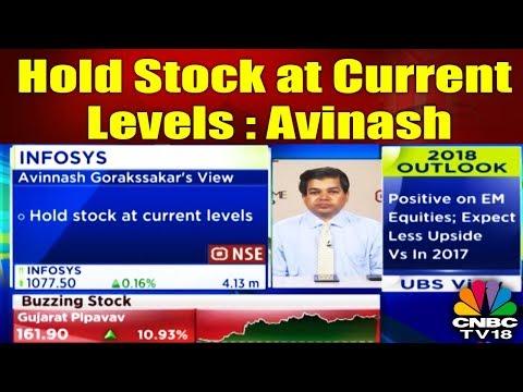 Hold Stock at Current Levels: Avinash Gorakshakar | YOUR STOCKS | CNBC TV18