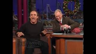 Jay Thomas on the Late Show with David Letterman #15 December 20, 2002