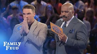 You can BANK on Ben and Aaron! | Family Feud