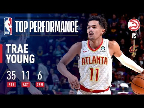 Video: Trae Young Drops 35 & 11 In Victory Over Cleveland | October 21, 2018