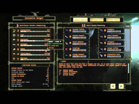 Wasteland 2: Director's Cut - Character Creation Guide