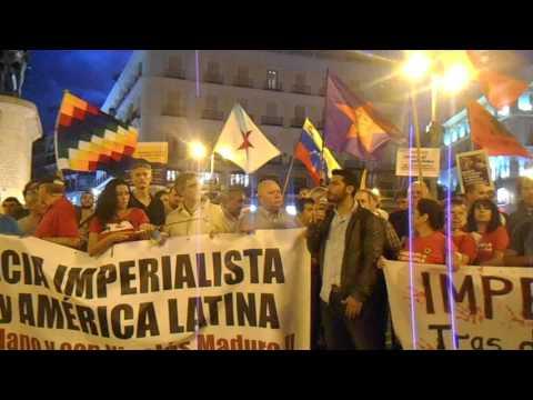 Mensaje del Secretario General de la JCV en la manifestación solidaria con Venezuela en Madrid