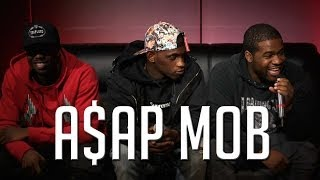 A$AP Mob talks Beef with Pro Era, white women & collab with Meth