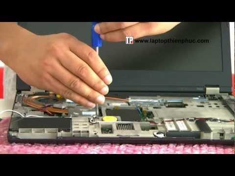 Hướng dẫn vệ sinh lắp ráp IBM THINKPAD T420 - Phần 3