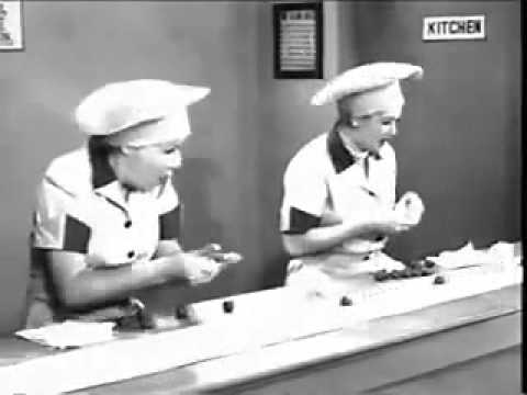I love Lucy Candy Factory Video wmv