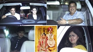 Toilet Ek Prem Katha Screening at Yash Raj Studio.Click this below link and subscribe to our channel to get all updates on Bollywood Movies, and your favorite Bollywood actresses and actors.http://goo.gl/cfijvC