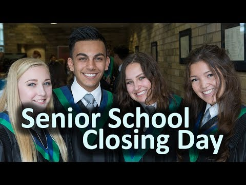 2017 Senior School Closing Day Ceremony (Timestamps Below)