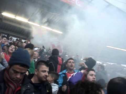 Huracán Vs. Independiente - Desempate Nacional B 2014 - I - La Banda de la Quema - Huracán - Argentina - América del Sur