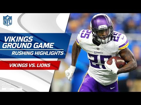 Video: Minnesota's Ground Game Feasts on Detroit's Defense on Thanksgiving!   Vikings vs. Lions   NFL Wk 12