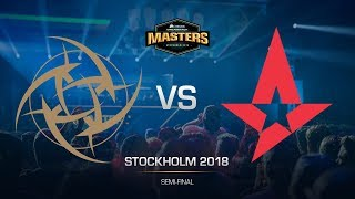 NiP vs Astralis - DH MASTERS Stockholm - map2 - de_nuke [sl4m, Strike]
