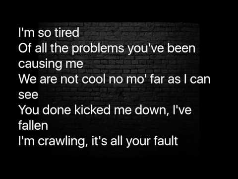 Hopsin - All Your Fault Lyrics (without into)