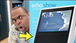Trying AMAZON ECHO SHOW For the First Time!