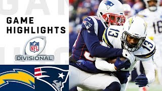 Chargers vs. Patriots Divisional Round Highlights   NFL 2018 Playoffs