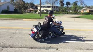 8. 2006 Harley Davidson Softail Heritage FLSTI (black) 2171 Fallen Cycles