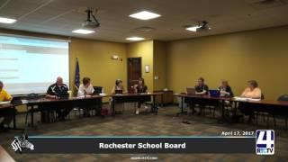 Rochester School Board Meeting
