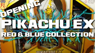 Opening a Pikachu EX Red and Blue Collection Box - Opening 4 Packs of Generations! by Flammable Lizard