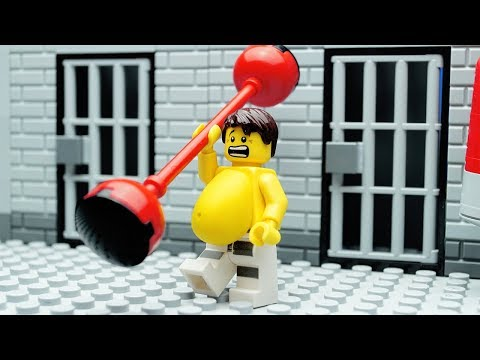 Lego Gym Fail - Prison Break Fitness