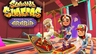 Join the Subway Surfers World Tour in Arabia! Download for free on Android, iOS, Windows 10 and Kindle Fire right here: http://bit.ly/SubSurfFBSubway Surfers World Tour - Arabia:★ Join the World Tour in mystical Arabia★ Surf through a Subway of majestic palaces and magical treasures★ Improve your Board collection with the shiny new Jewelled board★ Upgrade the Old Dusty board to soar through the Subway with a trail of dust★ Search for magic lamps high and low to earn Weekly Hunt prizesDownload for FREE on:Android:http://bit.ly/SubSurf_GooglePlayiOS:http://bit.ly/SubSurf_AppStoreWindows 10:http://bit.ly/SubSurf_WPstoreKindle Fire:http://bit.ly/SubSurf_Amazon