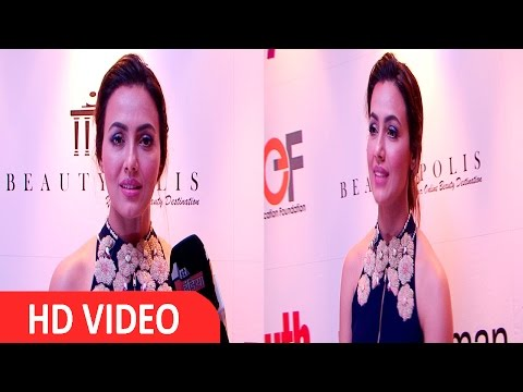 Sana Khan At ''I AM WOMEN'' Movement Empowers Women Achievers