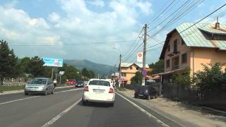 Sinaia Romania  city photos gallery : Drive Romania: BUCUREȘTI - Autostrada A3 - PLOIEȘTI - SINAIA - BUȘTENI (1 h : 51m)