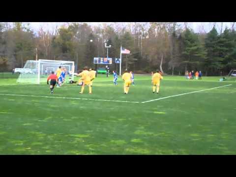 10/22/11 Men's Soccer vs. Colby