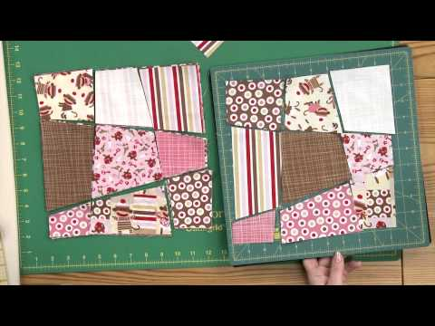 patchwork - variazione del classico blocco nine-patch
