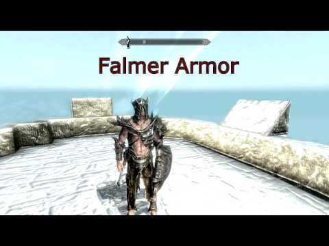 how to get full falmer hardenedarmor skyrim