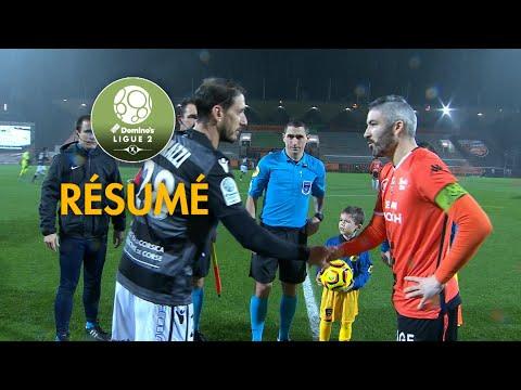 FC Lorient - Gazélec FC Ajaccio ( 0-1 ) - Résumé - (FCL - GFCA) / 2018-19