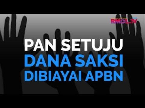 PAN Setuju Dana Saksi Dibiayai APBN