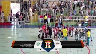 Metropolitano 2017, Categoria Sub 8, não foi desta vez, a equipe tricolor não conseguiu se encontrar na quadra, sentiu a pressão...
