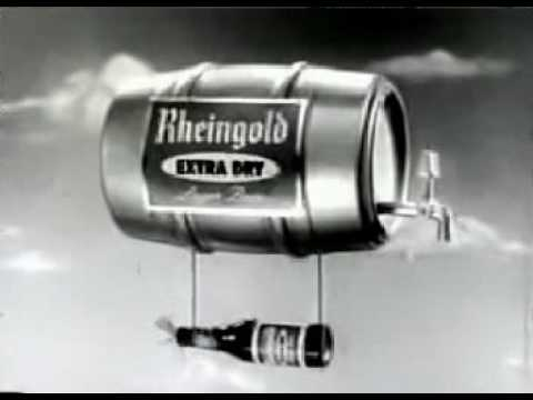 Vintage Commercial – Rheingold Extra Dry Beer