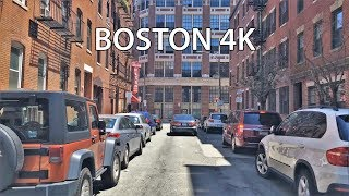 Boston (MA) United States  city images : Driving Downtown - Boston Massachusetts USA