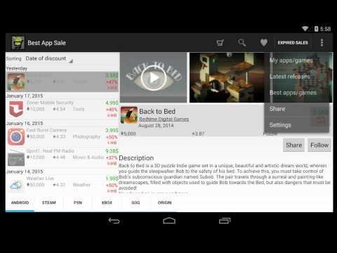 Video of Best App Sale
