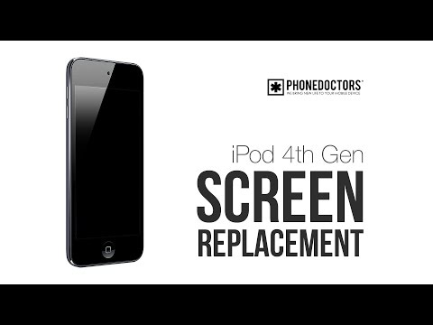 replacement - http://PHONEDOCTORS.com presents the DIY Tutorial for the Apple iPod Touch 4th Generation Screen Replacement. You can get all of your replacement LCD and Dig...